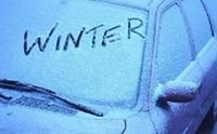Best #winter #tip : spray vinegar on windshield before a winter storm ! Car windows will not frost over :)