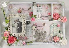 The Paper Chase: Beautiful shadow box