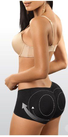 6c220aa8b440 $34.95 Boxer style body shaper that helps lift the buttocks naturally and  create an ideal shape