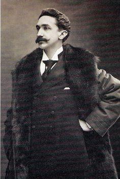 ROBERT DE MONTESQUIOU (1855-1921) French poet, aesthete, and art collector