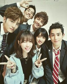 Meteor Garden 2018 seriously one of my fav dramas. N omg is the cast so hot! Meteor Garden Cast, Meteor Garden 2018, F4 Boys Over Flowers, Handsome Korean Actors, A Love So Beautiful, Kdrama Memes, Chinese Actress, Asian Actors, Drama Movies