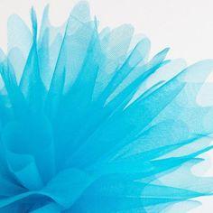 Lilac Cristal Organza Favour Nets Peaked Edge Pk 50