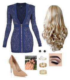 """""""Untitled #81"""" by amanda-nielsen on Polyvore featuring Balmain, Lipsy and Miss Selfridge"""