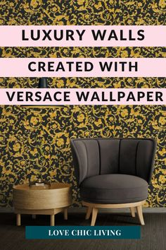 Create a luxury home with Versace Wallpaper. Modern patterned wallpaper to give your home the luxury boost it needs. Luxury home interior design ideas that will add flare to your home without breaking the budget. Home decorating ideas on a budget. Versace Wallpaper, Gold Wallpaper, Tree Wallpaper, Interior Design Inspiration, Home Decor Inspiration, Design Ideas, Luxury Homes Interior, Home Interior Design, Italian Designer Brands