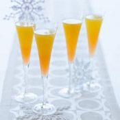 Tahitian Sunrise with Fre Brut #winecocktails #mocktails #nonalcoholic