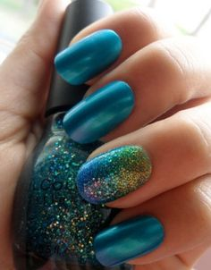 Beach Inspired Manicures