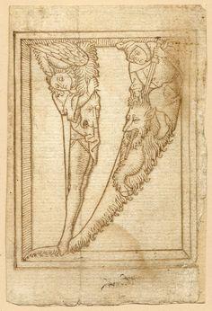 marinni | Старинные алфавиты.1464г. Продолжение.