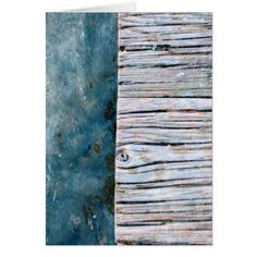 #wood - #Wood Over Water Blank Greeting Card