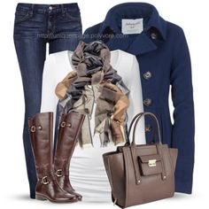 Winter Outfits | Aeropostale Peacoat | Fashionista Trends