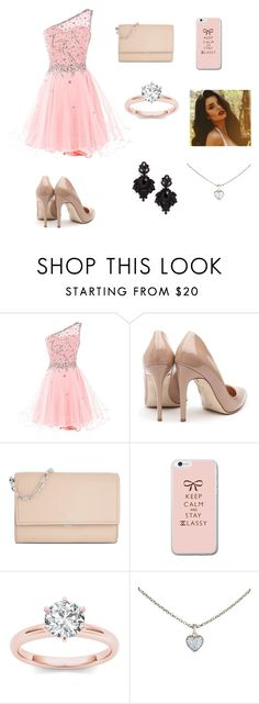 """party"" by victoriapaz2009 ❤ liked on Polyvore featuring Rupert Sanderson, Michael Kors, Cartier and Tasha"