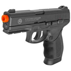 Taurus PT 24/7 CO2 Semi-Automatic BAXS Shooting System Airsoft Pistol
