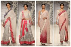 Smokey Pastel Collection by Varun Bahl https://www.facebook.com/pages/Varun-Bahl/148626261957118 @ #ICW2014