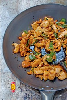 Fried Chicken With Cashew Nuts Recipe | Chicken Recipes