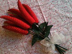 Faça você mesmo | Buquê de pimentas para as casadas