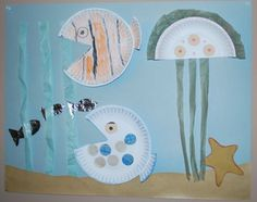 Under The Sea Art Project for