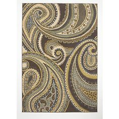 Paisley Rug from Through the Country Door®