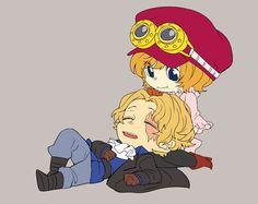 Sabo x Koala Sabo One Piece, One Piece Ship, One Piece Images, One Piece Pictures, Koala One Piece, Luffy X Nami, Ace And Luffy, Pirate Island, Fandom