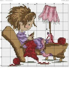 Cross Stitch For Kids, Cross Stitch Boards, Cute Cross Stitch, Cross Stitch Designs, Cross Stitch Patterns, Cross Stitching, Cross Stitch Embroidery, Embroidery Patterns, Everything Cross Stitch
