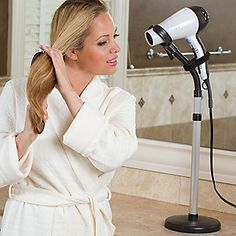 hair drying and styling stand from footsmart.com.  $20.