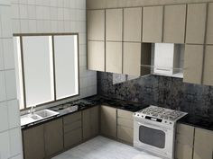 Design and fabrications. Kitchen set.