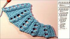 """Qué hermoso chal en crochet azul !! Los chales son accesorios que dan mucha elegancia, haga su propio chal siguiendo los gráficos o el video tutorial. Los gráficos: El vídeo: <iframe width=""""560″ height=""""315″ src=""""https://www.youtube.com/embed/P-5U1Fm5IVM?rel=0″ frameborder=""""0″ allowfullscreen></iframe>"""
