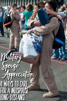 Military Spouse Appreciation Day 4 Ways to Care for a Milspouse Long-Distance