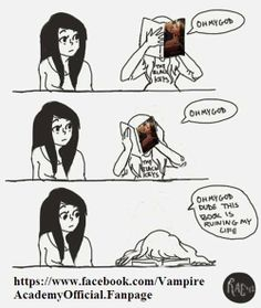 Vampire Academy/so true ;D Spirit Bound Did Kill Me... But I Came Back To Life After I Read Last Sacrifice...❤❤❤❤
