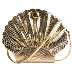 A shell purse to store all your mermaid treasures