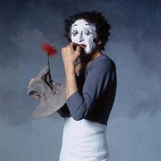 Marcel Marceau was acclaimed the worlds greatest mime.