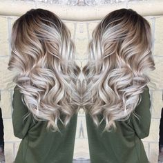 Bayalage, icy blonde. Perfect natural color. http://noahxnw.tumblr.com/post/157429781046/short-updo-hairstyles-for-women-short-hairstyles