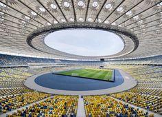 Kiev Olympic Stadium   gmp Architekten