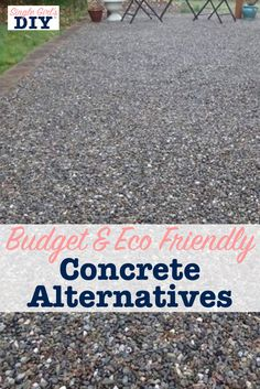 If you want to create a beautiful patio or driveway. Thout the expense or environmental impact of concrete. Y one of these concrete alternatives. I have researched multiple products. D even used one myself on my own diy backyard makeover. Patio Diy, Backyard Patio Designs, Backyard Landscaping, Landscaping Ideas, Backyard Pools, Diy Backyard Projects, Landscaping Borders, Budget Patio, Budget Plan