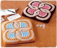 Crochê para decoração com gráficos
