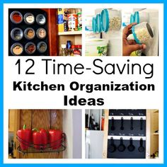 12 Time-Saving Kitchen Organization Ideas- A Cultivated Nest #wineglasswriter