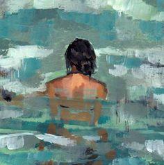 Undertow . giclee print of sea art painting