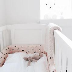 ferm LIVING Rose Rabbit bed bumper: http://www.fermliving.com/webshop/shop/rose-rabbit-bed-bumper.aspx