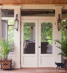 Double Screen Doors, Metal Screen Doors, French Doors With Screens, Wooden Screen Door, Sliding Screen Doors, Double French Doors, Single Doors, Best Storm Doors, Screened Porch Doors