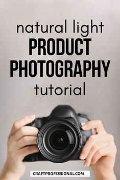 Natural light product photography tutorial for beginners. Learn how to photograph crafts with a simple window light setup or outdoor product photography. #productphotography #craftbusiness #craftprofessional Photography Lessons, Photography Tutorials, Light Photography, Selling Crafts Online, Craft Online, Craft Business, Product Photography, Great Photos, Natural Light
