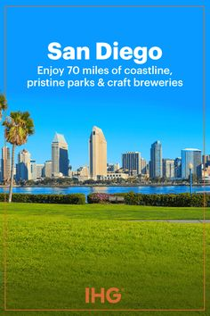 San Diego, with 70 miles of coastline, moderate year-round climate, pristine parks, zoos, craft breweries, a bustling nightlife and much more, is a popular and fantastic pick for a sunny California beachfront vacation. IHG invites you to stay at all of our San Diego hotels, where you'll always find yourself in a great place to enjoy the city.