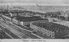 Legnano, Officine Tosi, 1900