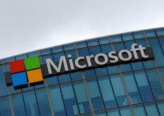 Microsoft Corp said sales of its flagship cloud product doubled in its first quarter, propelling earnings above analysts' estimates and sending its shares to an all-time high, breaking past a level hit in 1999 at the peak of the tech stock bubble.