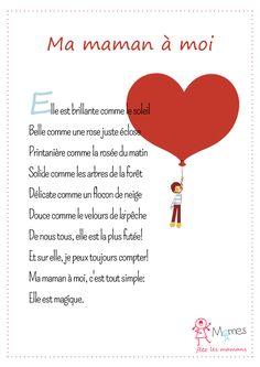 65 Meilleures Images Du Tableau Poème Bonne Fête Maman En
