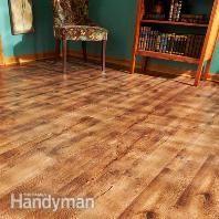 Vinyl Flooring: Repair: Installation