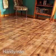 Vinyl Flooring: Repair: Installation