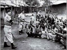 The picture above shows the war for independence between Kenya and the British. The war lasted three years and the Kenya finally won and took Independence. At the time Kenya got a new leader to help gain independence and it was a great success. Kenya made Jomo Kenyatta their leader.