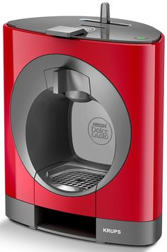 Krups Nescafe Dolce Gusto OBLO Coffee Machine Red 15 Bar Capacity for sale online Coffee Machine Design, Krups Coffee, Home Coffee Machines, Cafetiere, Expresso, Nescafe, Coffee Cafe, Coffee Shop, Industrial Design