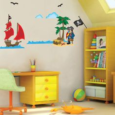 Pirates Decorative Wall Decals.