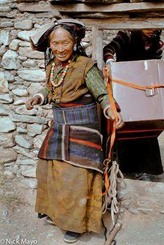 Dolpo,Dolpo-pa,Hat,Nepal, photo