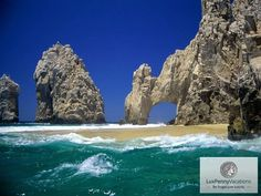 Cabo San Lucas Arch - one of our favorite vacation spots Cabo San Lucas Mexico, Cancun Mexico, Mexico Tourist Attractions, Dream Vacations, Vacation Spots, Vacation Ideas, Vacation Travel, Beach Travel, Travel List