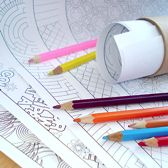 Great site for coloring patterns to send your kid!